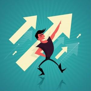 concepto-de-exito-empresarial-con-el-hombre-de-negocios-y-las-flechas_1407-298